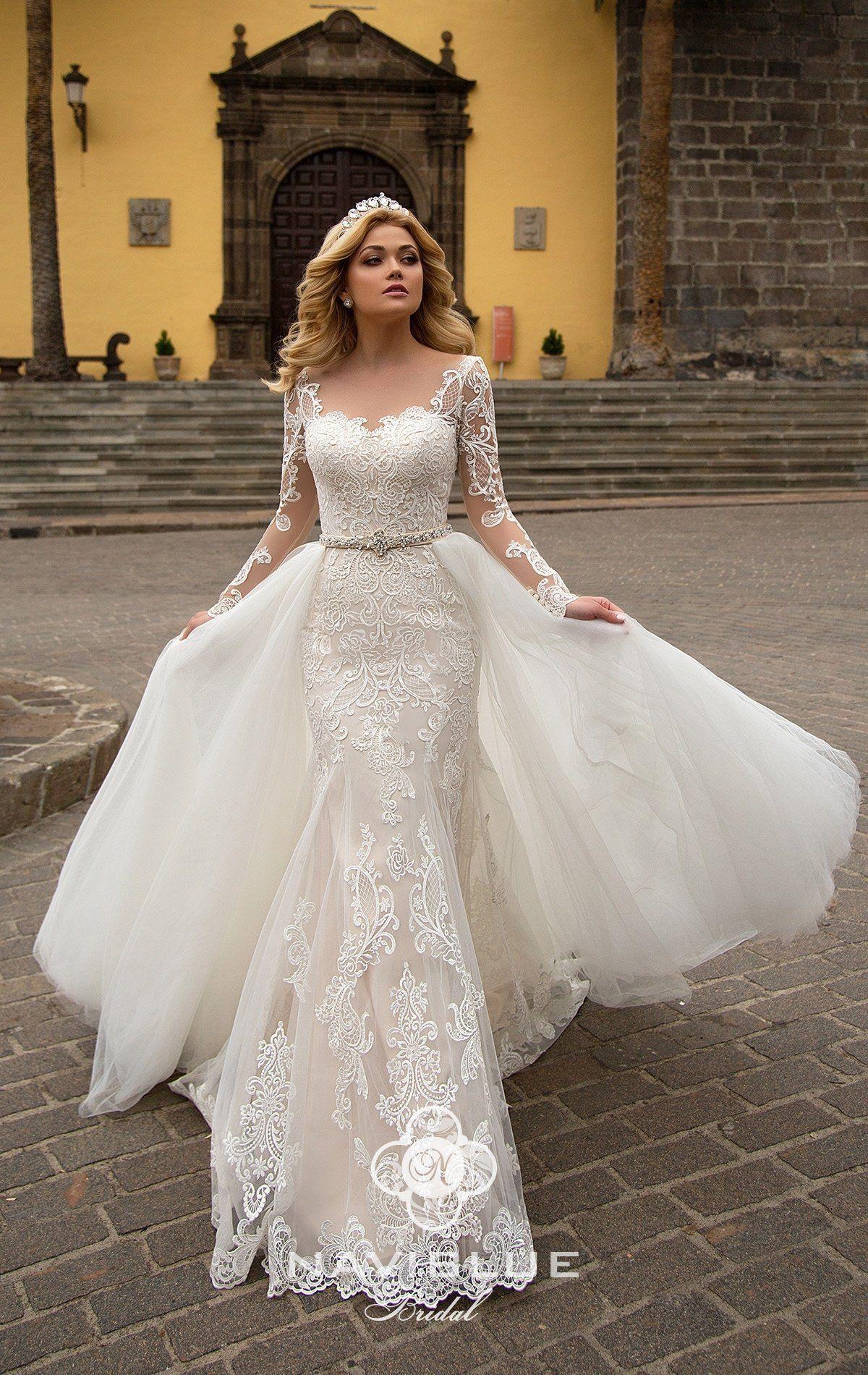 Madi Lane Haven [Video] in 2020   Floaty wedding dress