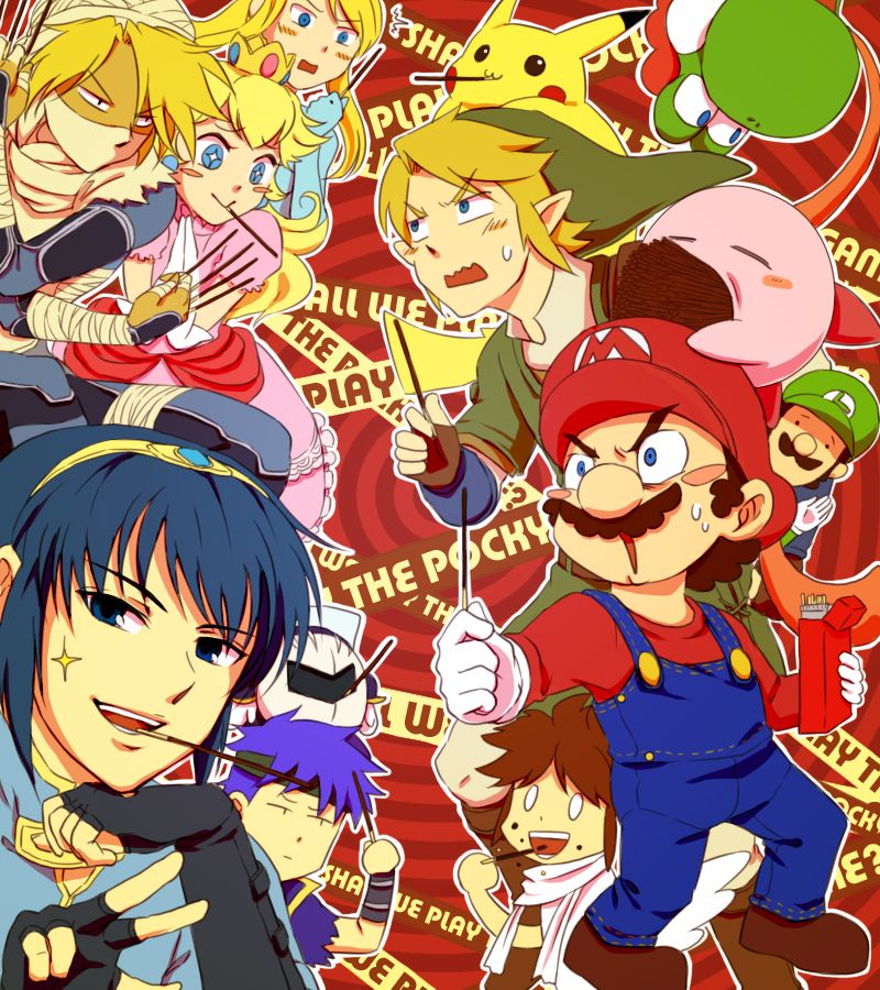 Anime Characters For Smash : Marth is like quot hello ladies u