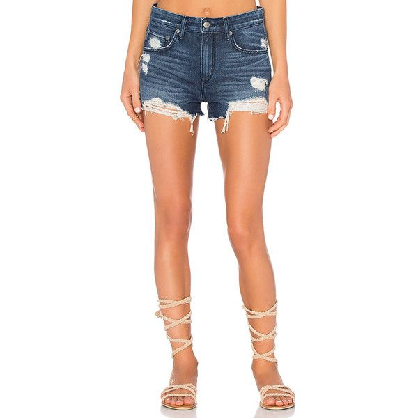 Jack High-Rise Shorts in Black. - size 29 (also in 28,30) Lovers + Friends