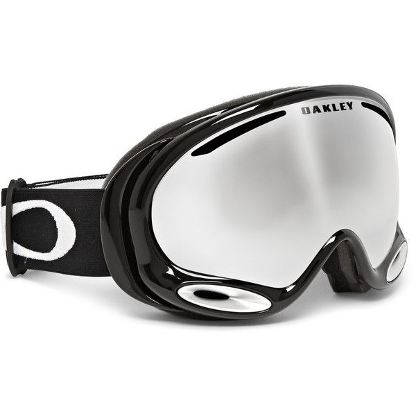 04021a6d18d Oakley A Frame 2.0 Mirrored Ski Goggles ( 185) ❤ liked on Polyvore  featuring men s fashion and winter