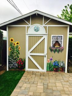 an old shed gets new life