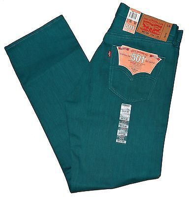 Deep Shrink Aqua Jeans 501 Original 1675 To Many Mens Levis Fit b7Y6gyf
