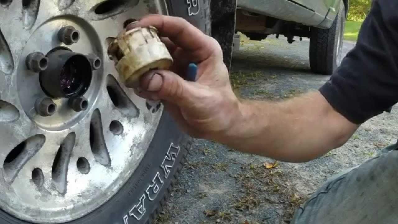 1999 ford ranger manual locking hubs