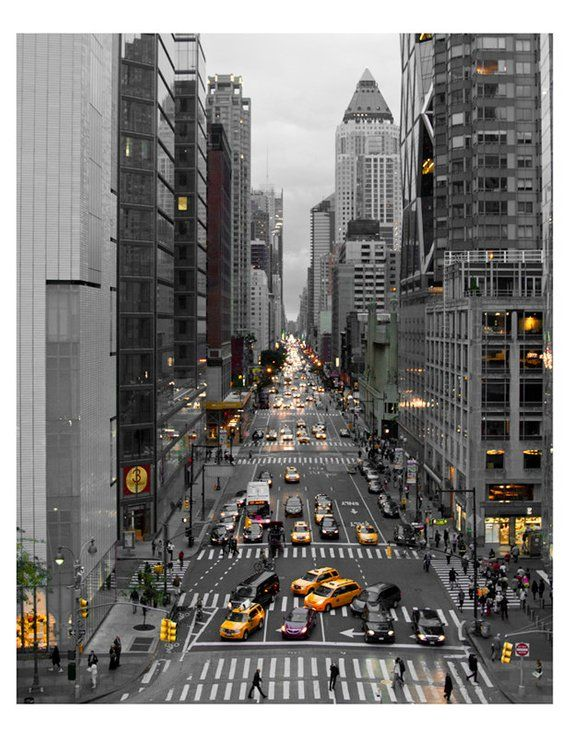 New York City Photograph, NYC Skyline, Wall Art Decor