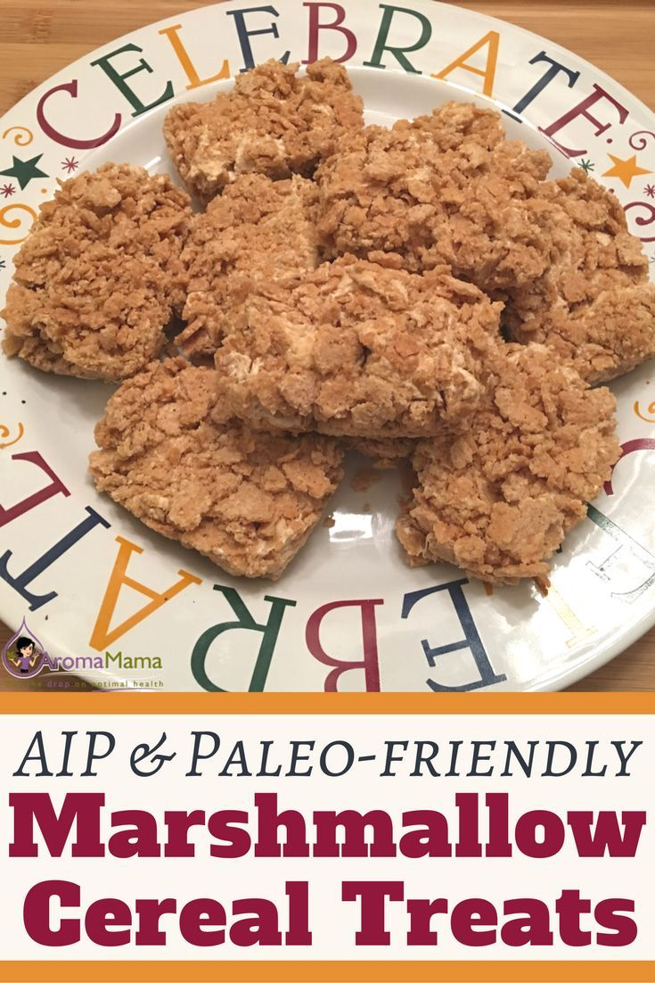 Aip paleo friendly marshmallow and cereal treats receita ccuart Images