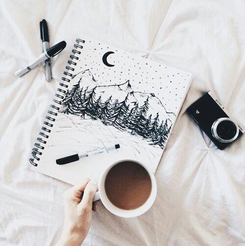 Ideas para decorar tus cuadernos usando plumones - Como decorar cuadernos ...