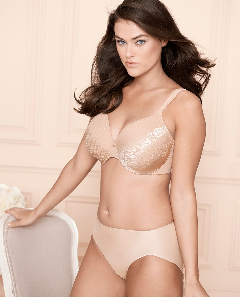 b2a60a90a Soma Stunning Support No Show Minimizer Bra   Vanishing Tummy High Leg  Brief in Light Nude