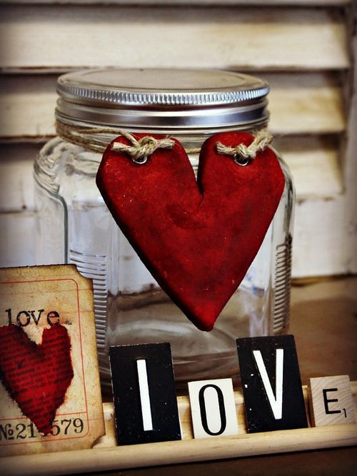 February Wooden Hearts Signs And Symbols February