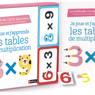 Je Joue Et J Apprends Les Tables De Multiplication Production D