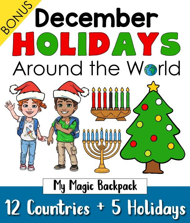 Christmas (and other December Holidays) Around the World -   18 december holiday Around The World ideas