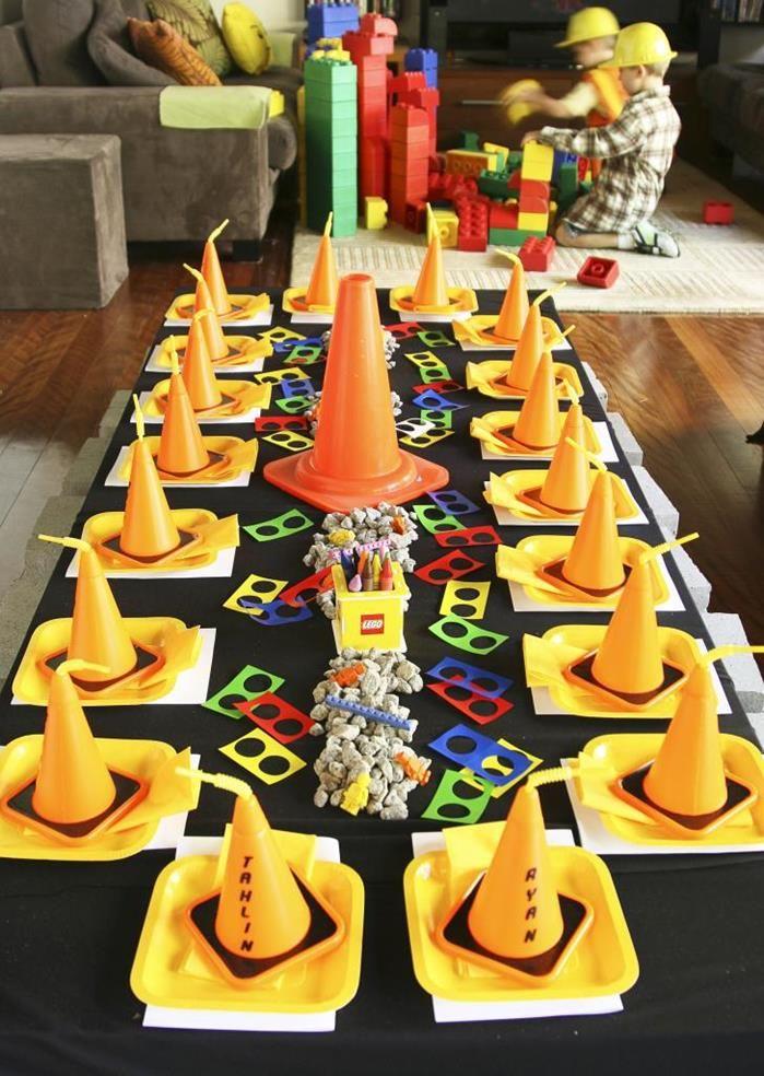 Lego Construction Party Planning Ideas Supplies Idea