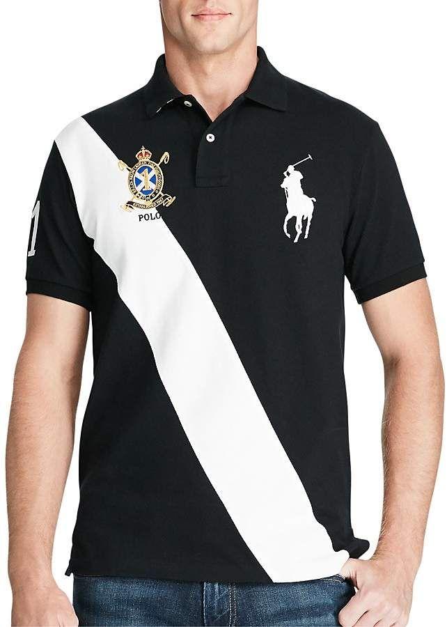 ShirtProducts Lauren Polo Fit Ralph Big Pony Slim kOTPXZiu