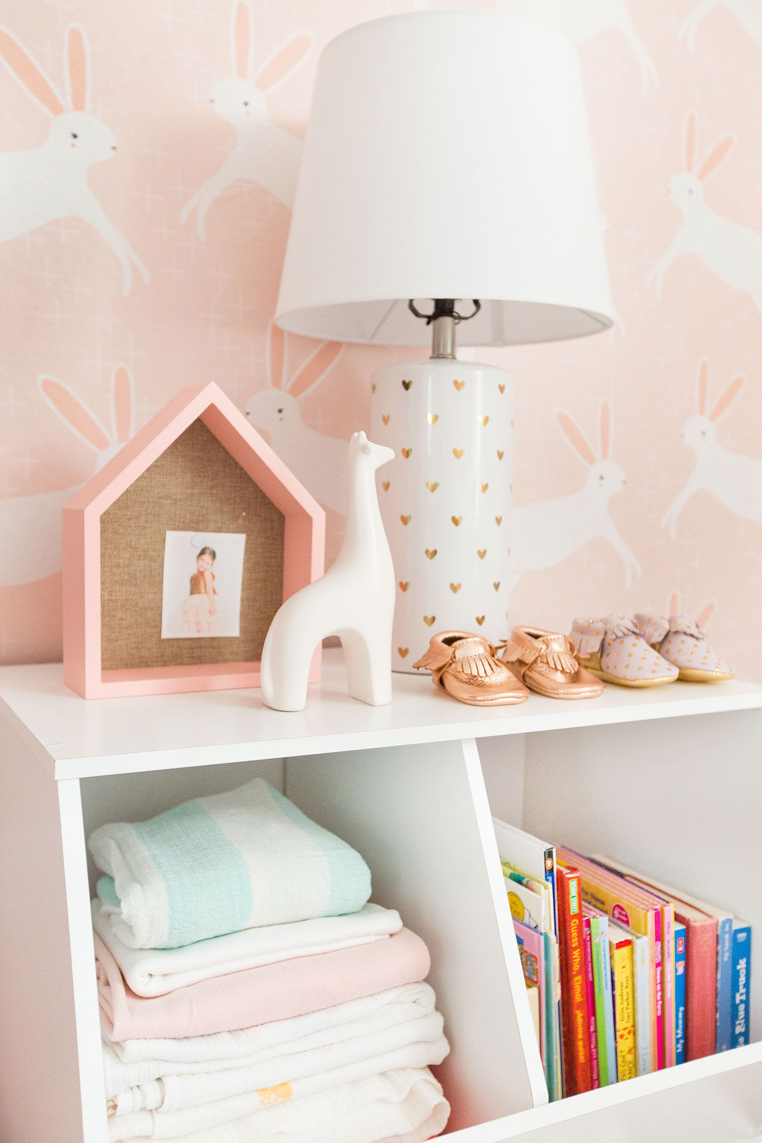A Feminine and Fun Nursery by Emily Henderson and Target