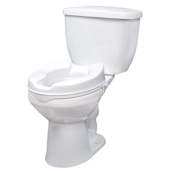 Raised Toilet Seat Toilet White Toilet Seats Bathroom Safety