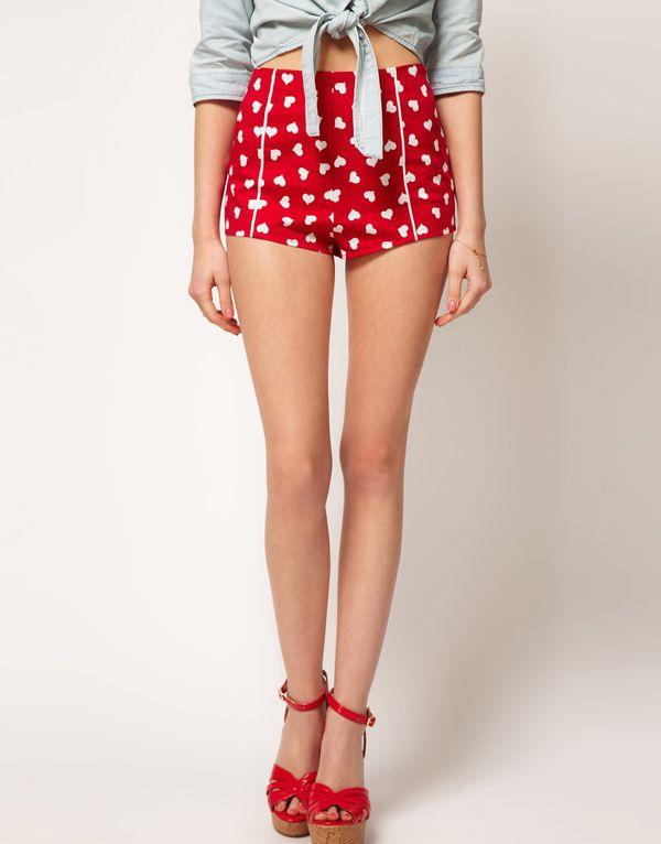 high waist shorts sewing pattern