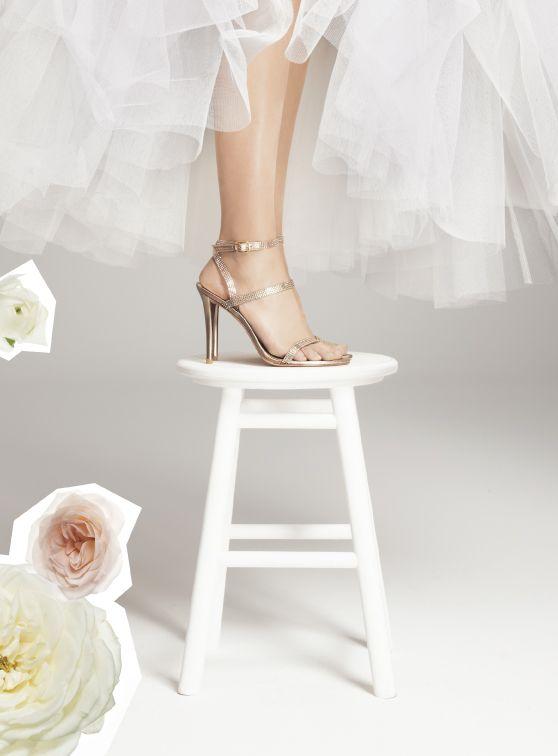 Scarpe Sposa Stuart Weitzman 2013.Stuart Weitzman Blitz Sandal Wedding Shoes Bridal Boutique Tulle