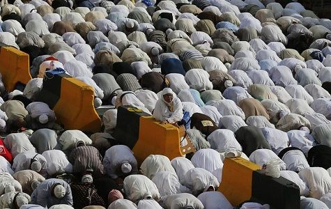 la estampida que ocurrieron durante la peregrinación del haj el mes pasado en Arabia Saudí mataron al menos a 2.110 peregrinos.