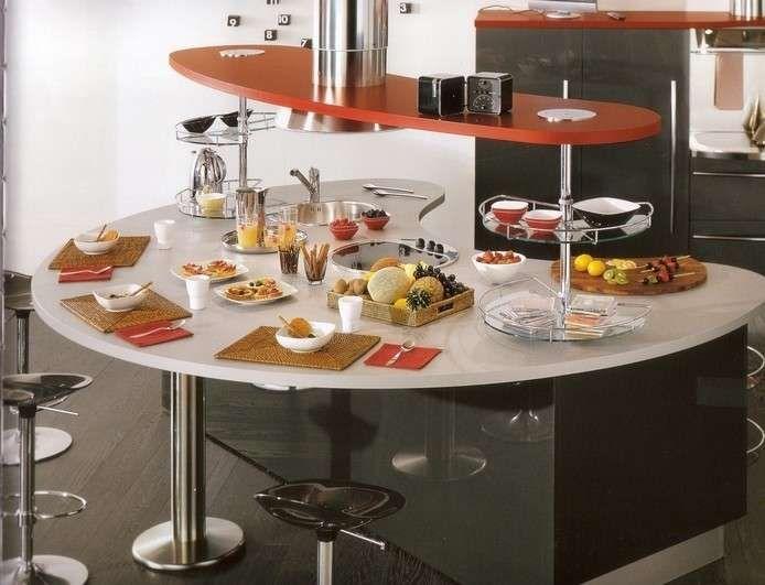 Arredare una cucina con isola kitchens pinterest for Arredamento salvaspazio mobili multifunzionali