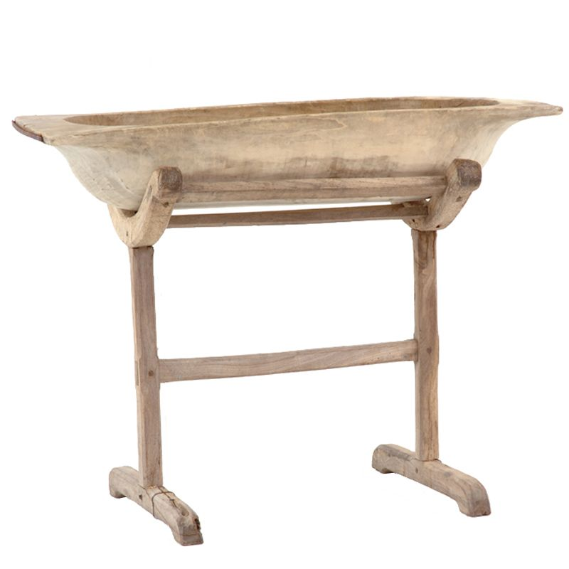 Moss Standing Bowl At Found Vintage Rentals Rustic Wooden