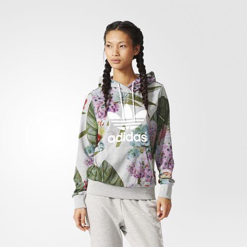Sudadera Capucha Adidas Trefoil Logo Pinterest Multicolor Con US6Twqz