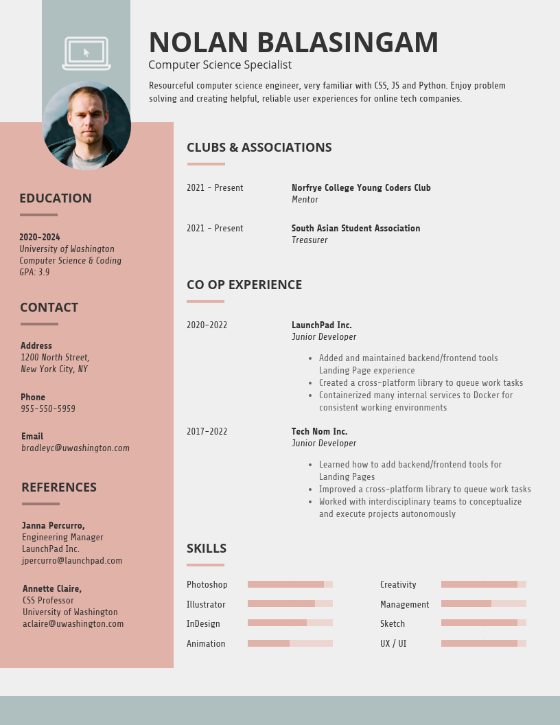 Venngage Templates in 2020 Student resume template
