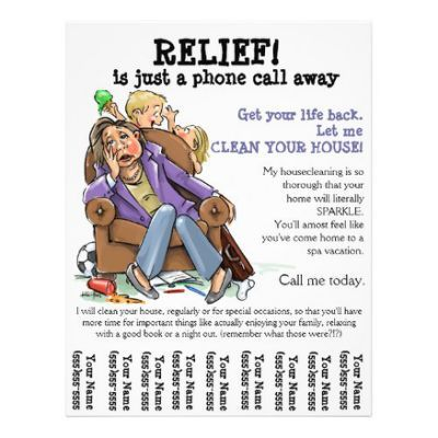 graphic relating to Free Printable House Cleaning Flyers identified as residence cleansing flyers -