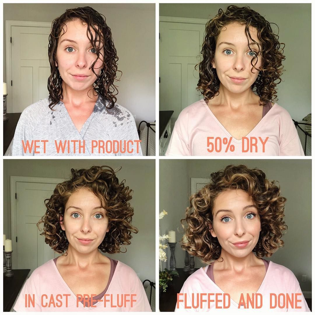 The Stages Of Drying I Love Seeing When Jannelleoshaughnessy Posts Her Hair Through The Stages Of Curly Hair Styles Naturally Curly Hair Styles Hair Plopping