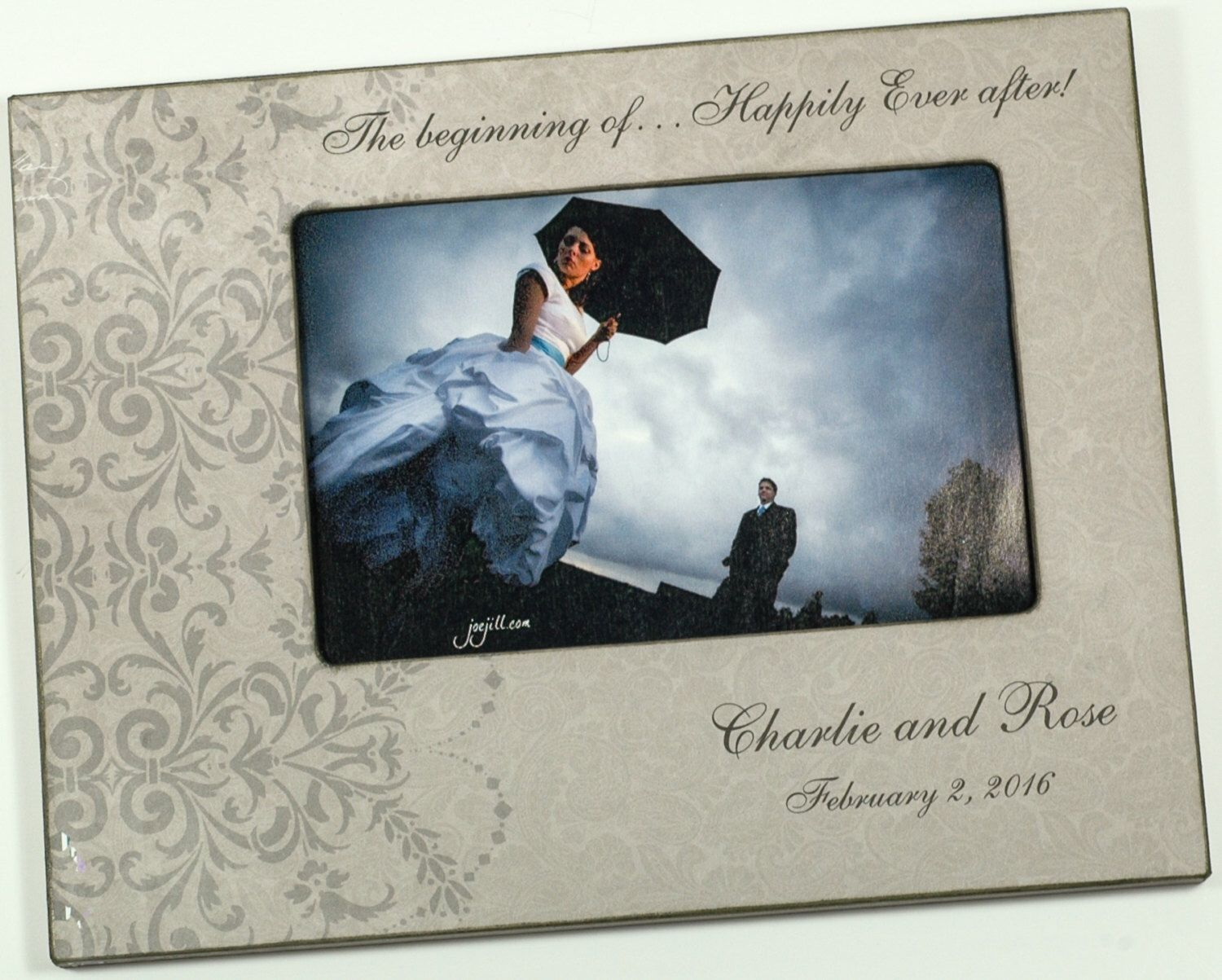 Personalized Engagement Frame, Happily Ever After picture frame ...