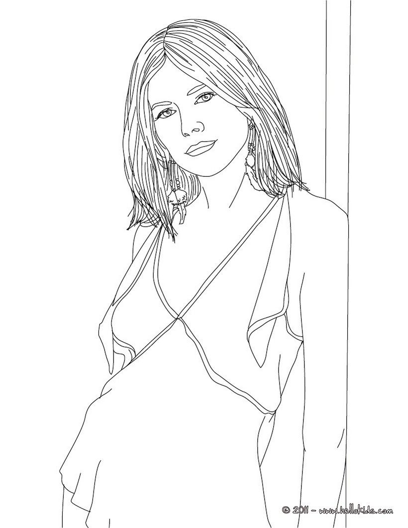 Sienna Miller Coloring Page More Fa Ous People Coloring Sheets On