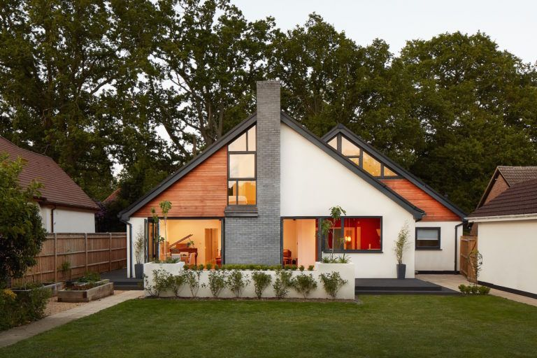 Contemporary Chalet Bungalow Conversion By La Hally: Residential Architecture Specialist