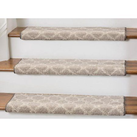 Parterre Bullnose Carpet Stair Tread With Adhesive Padding 27 Wide 10 Deep Image 4 Of 5 Carpet Stair Treads Bullnose Carpet Stair Treads Stair Treads