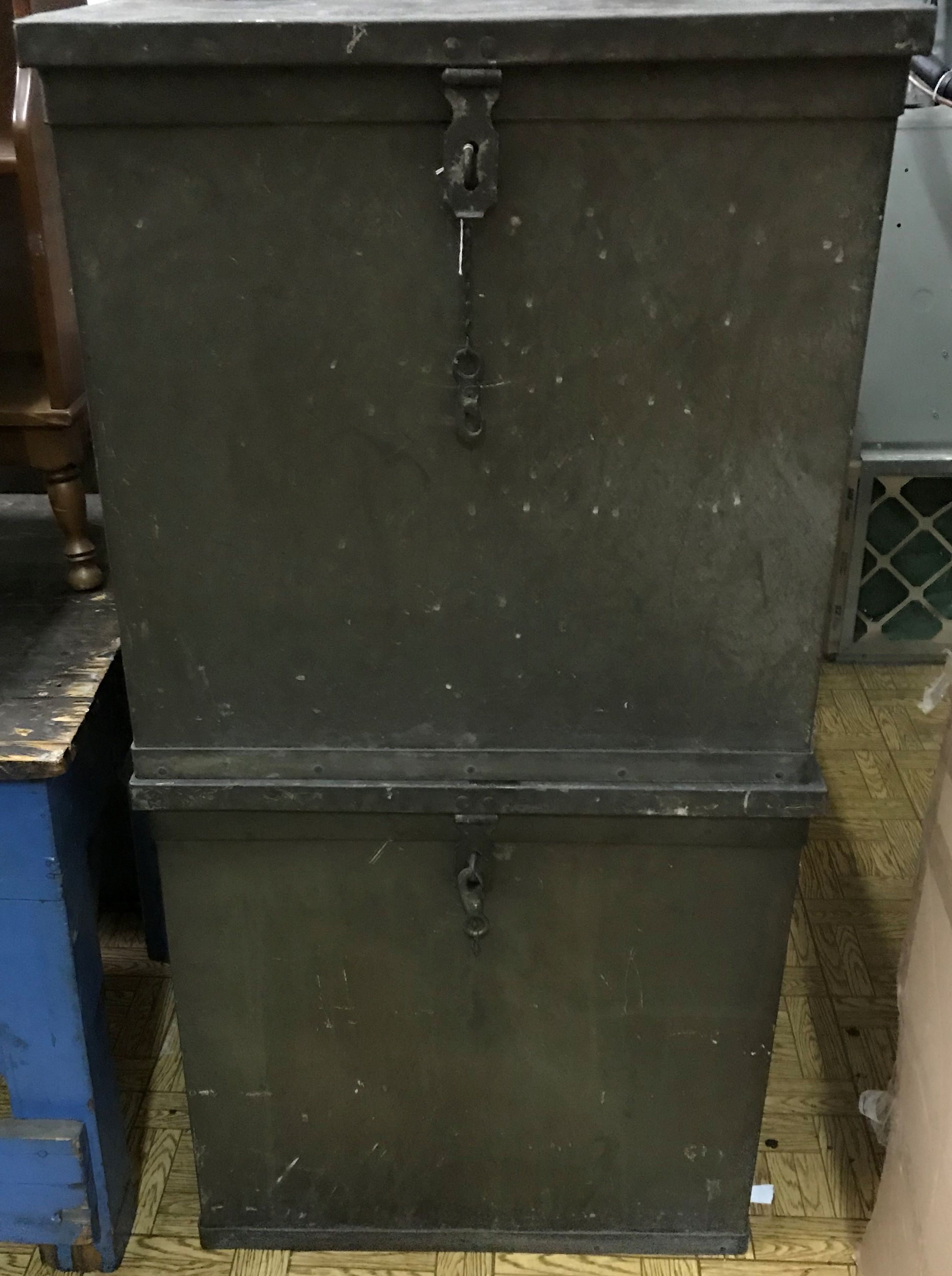 2 Vintage Storage Bin Cabinet Large And Heavy Vintage Storage Storage Bins Storage