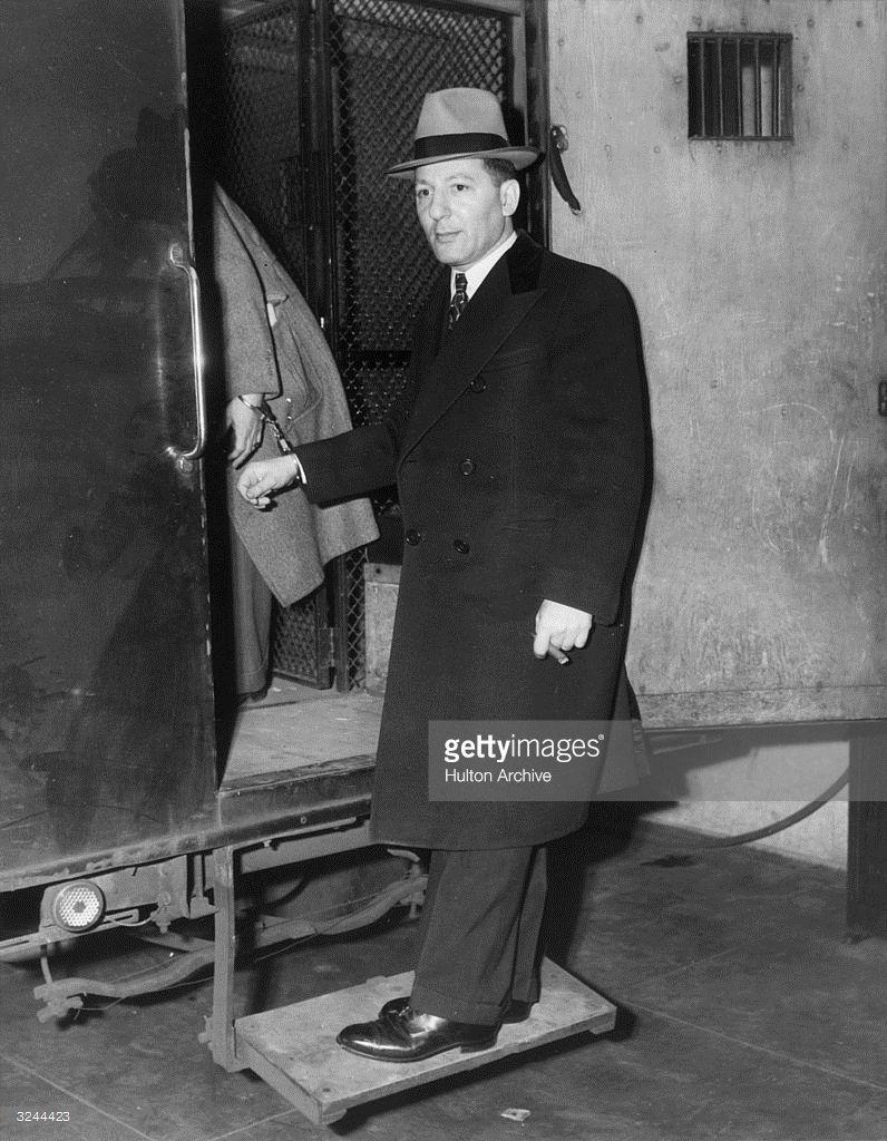 American criminal Louis Buchal...