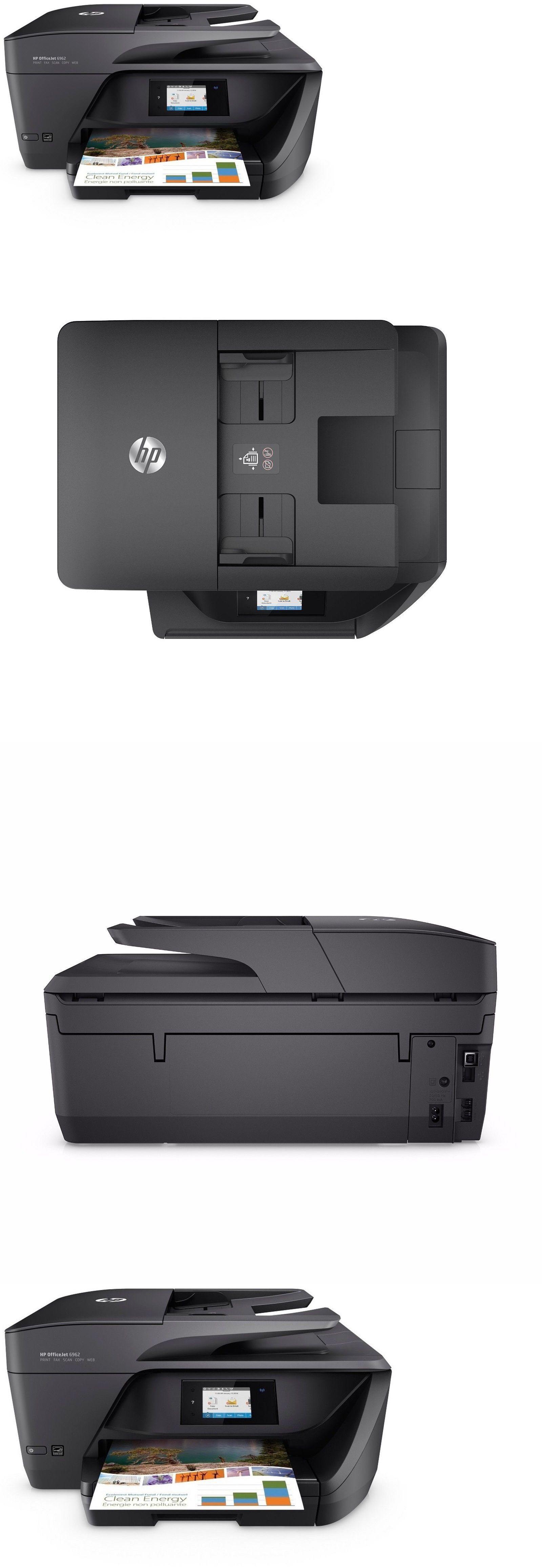 Printers 1245 Hp Officejet Pro 6962 AllInOne Printer