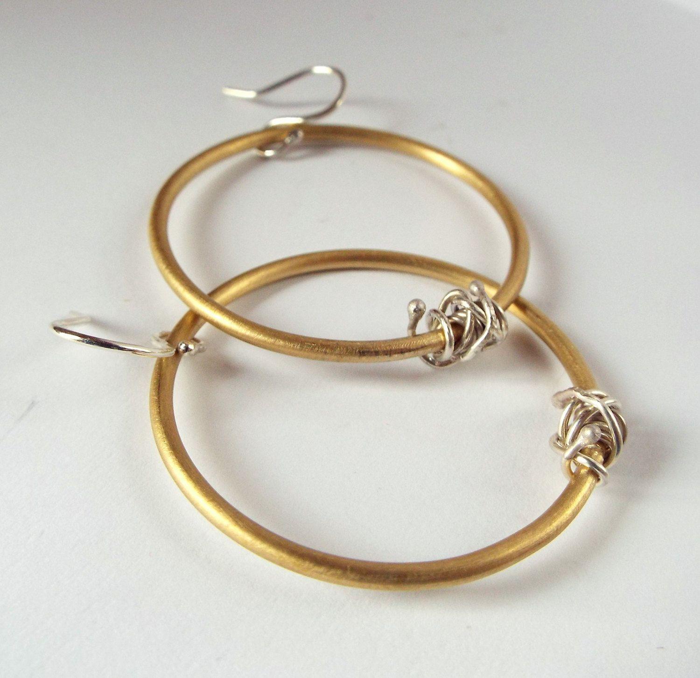 H M Large Metal Earrings In 2020 Large Earrings Metal Earrings Earrings