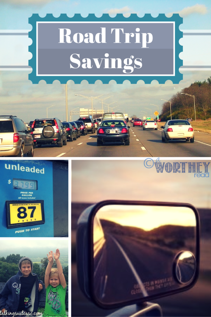 Road Trip Savings- Check out great tips and ideas that will help you SAVE big on your next Road Trip! There's a little time left for one more road trip this summer!! Here's some ideas on how to do that, frugally.  A Worthey Read