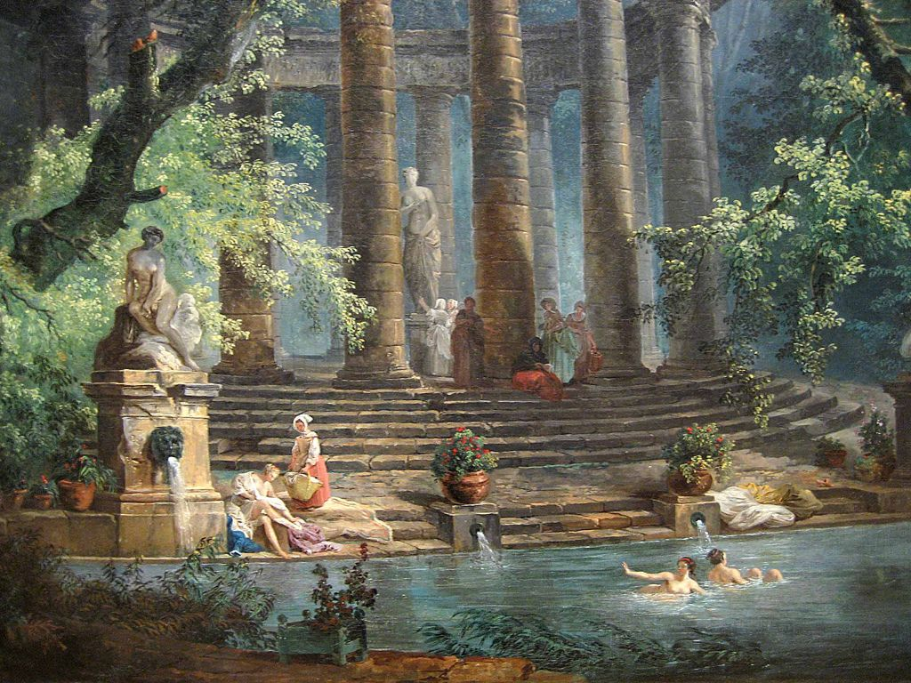 Hubert Robert Rococo Era Painter Paintings Pinterest Art - Rococo painting