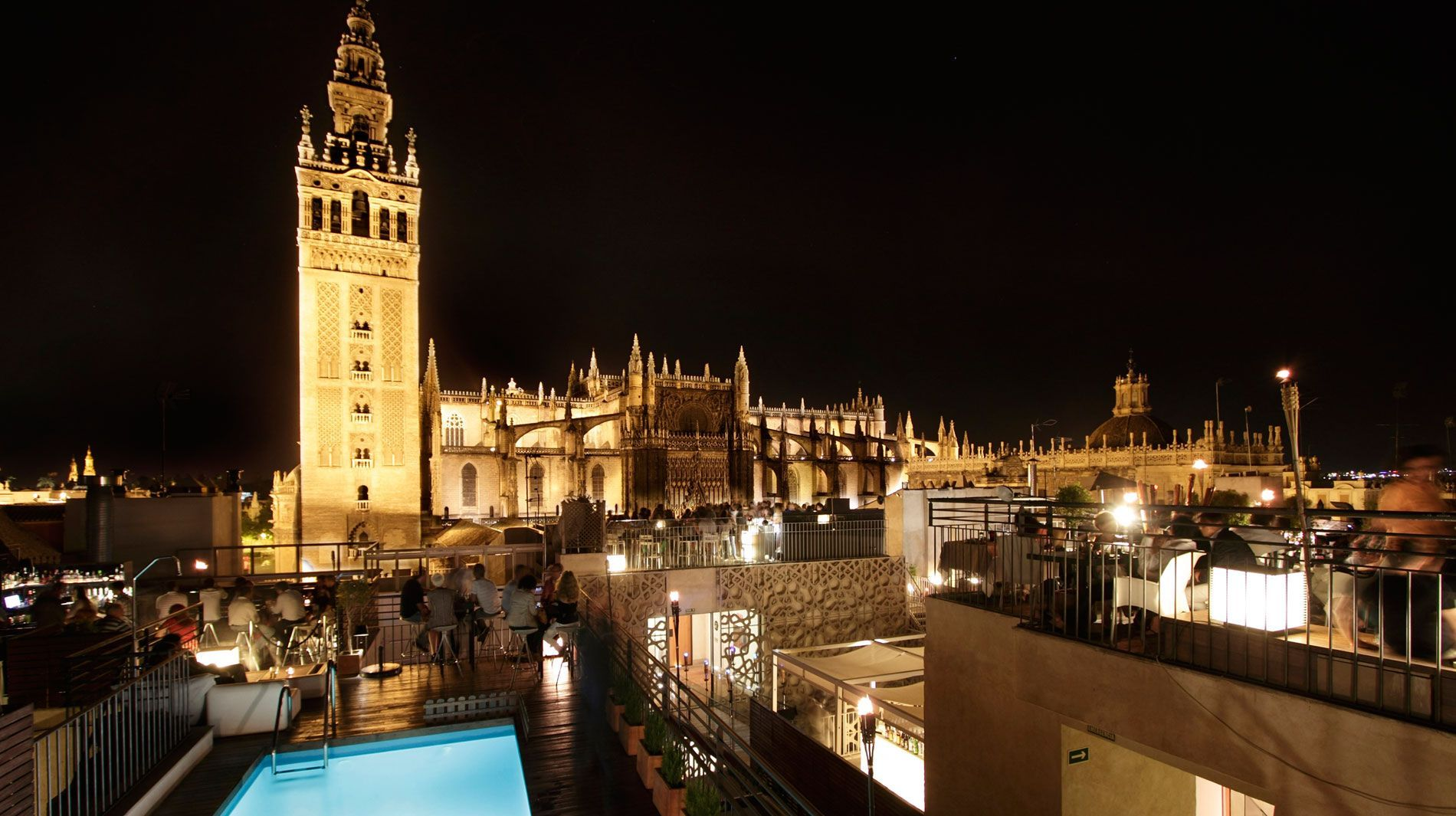 Eme Catedral Hotel Seville Rooftop Bar Hotels And Resorts Seville Hotel Best Boutique Hotels