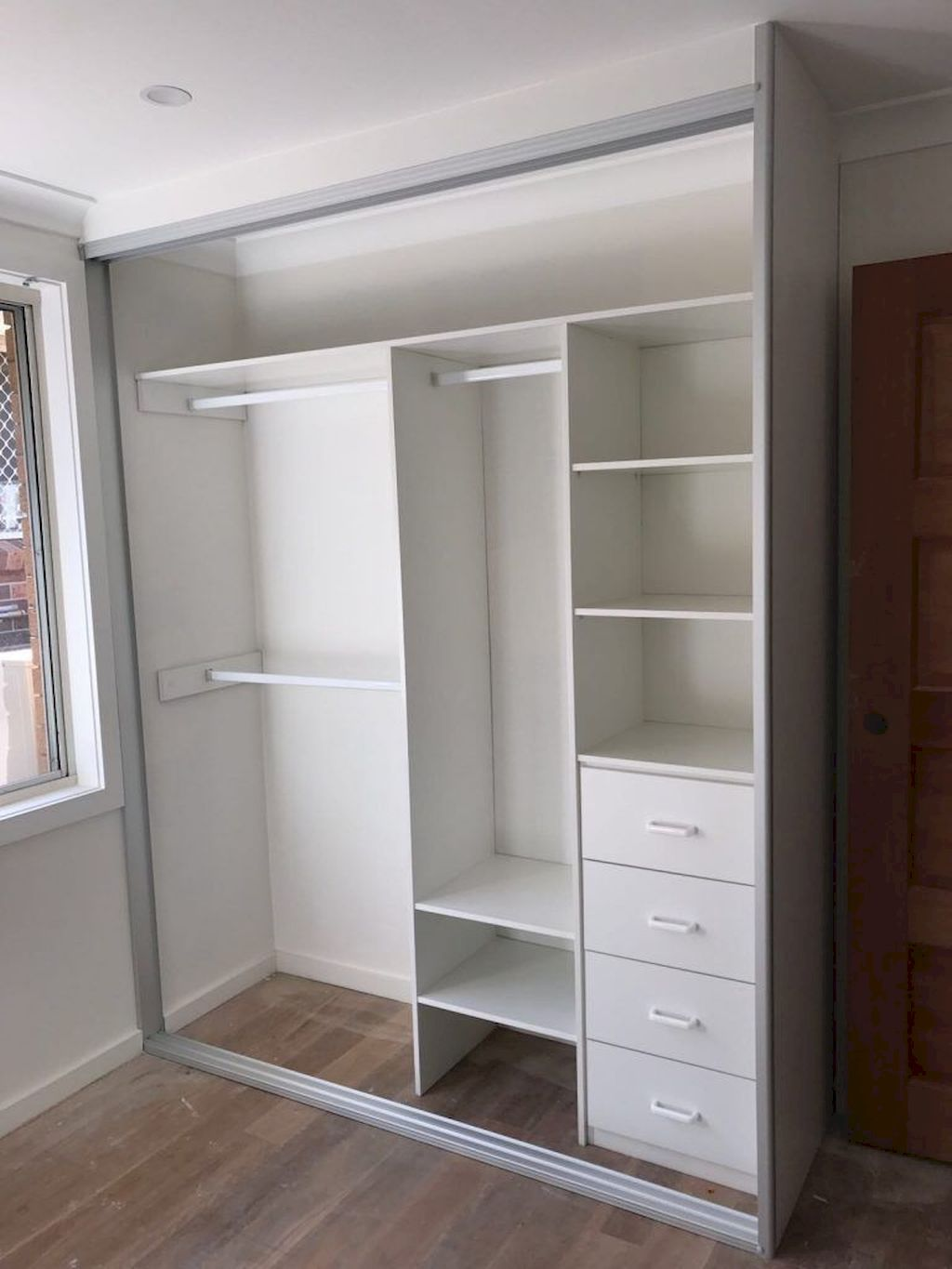Fabulous Closet Door Concepts That Add Model To Your Bed room
