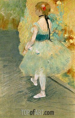 Dancer In Green Degas Painting Reproduction Edgar Degas Art Degas Ballerina Degas Paintings