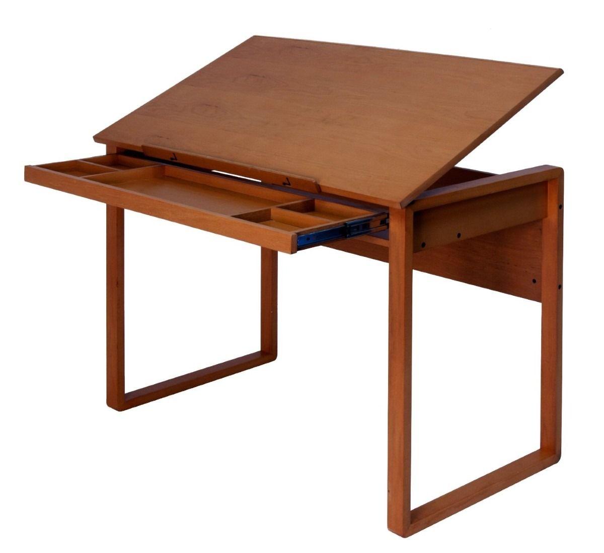 Tabla mesa de trabajo dibujo de madera restirador pm0 - Mesas dibujo tecnico ...