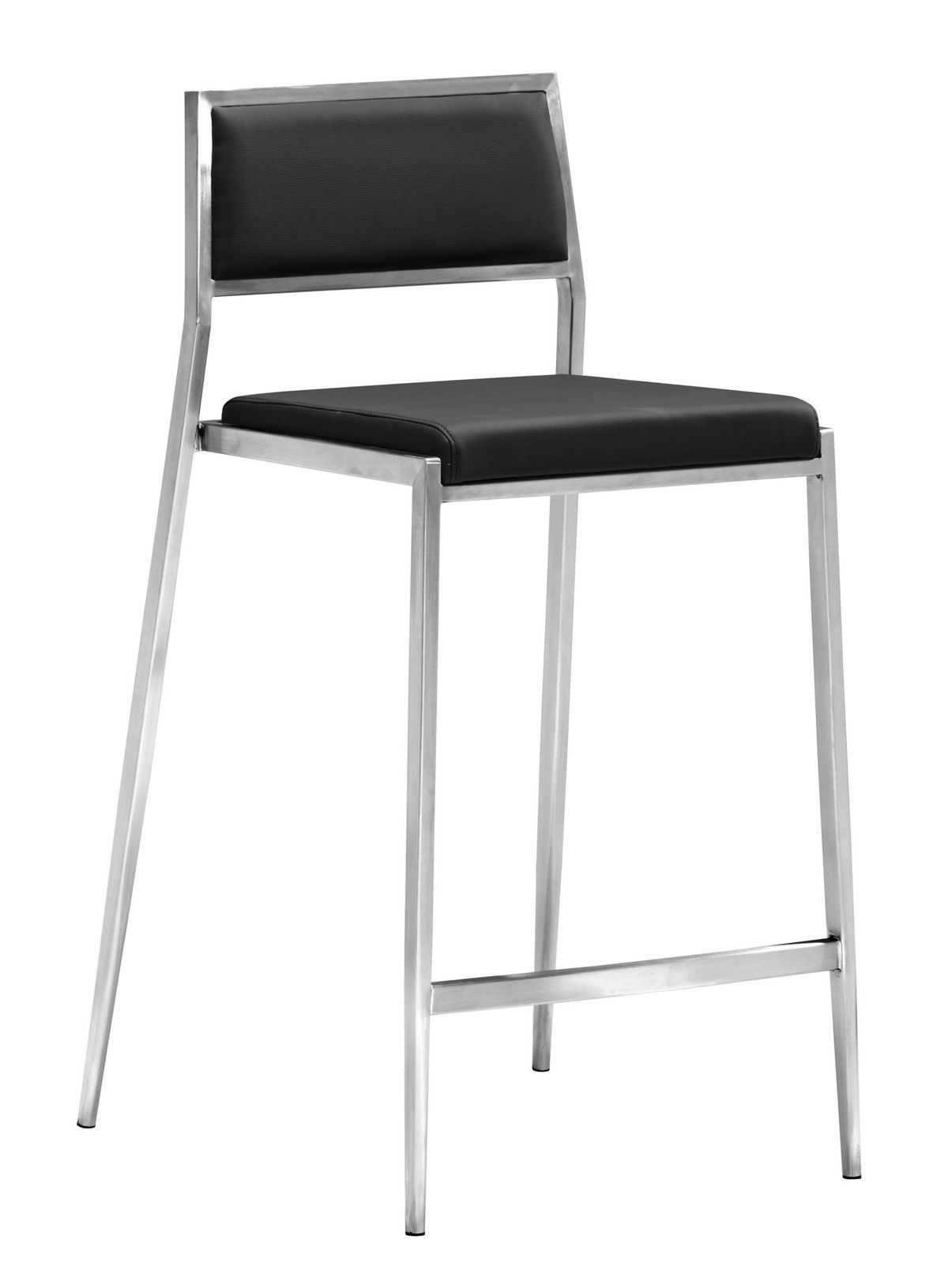 Zuo Modern Dolemite Counter Chair Black