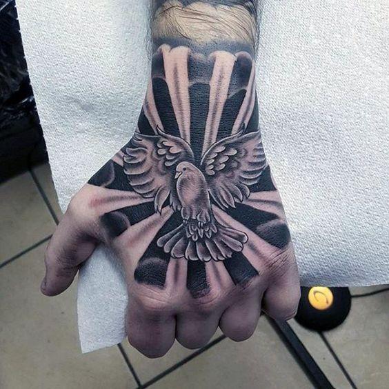 Tatuajes Para Hombres En La Mano Ink Pinterest