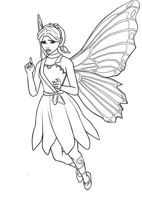 Barbie Mariposa Look Confuse Coloring Pages Bulk Color Fairy Coloring Pages Princess Coloring Pages Princess Coloring