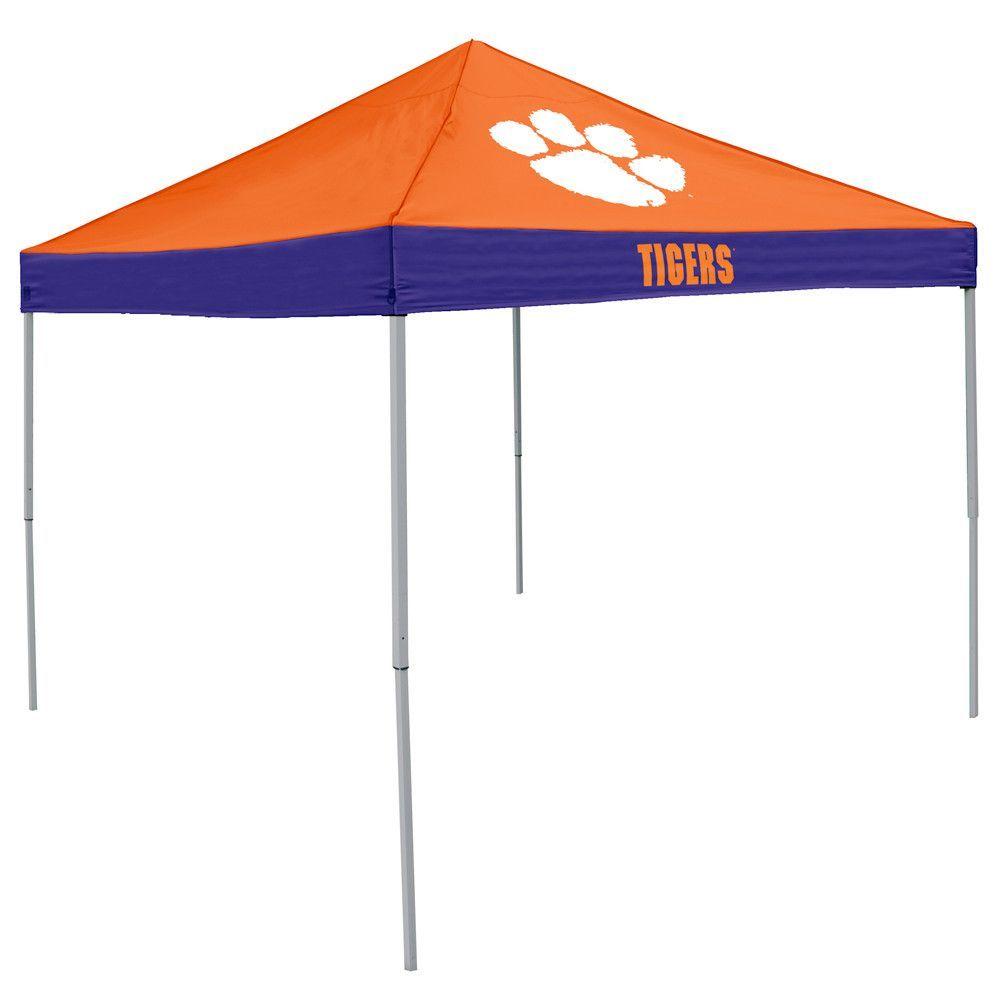Clemson Tigers NCAA 9 x Economy 2 Logo Pop Up Canopy Tailgate Tent  sc 1 st  Pinterest & Clemson Tigers NCAA 9 x Economy 2 Logo Pop Up Canopy Tailgate Tent ...