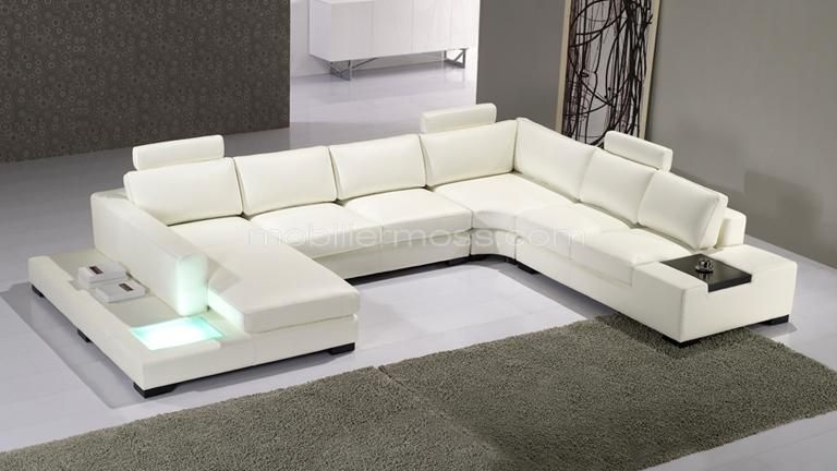 Canape D Angle Cuir Design Panoramique Fritsch Avec Lumiere Canape Angle Canape Angle Blanc Canape D Angle Cuir