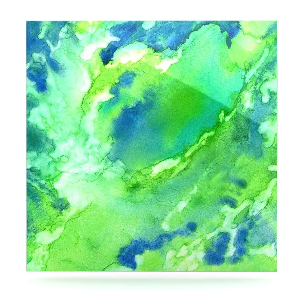 """Rosie Brown """"Touch of Blue"""" Luxe Square Panel"""