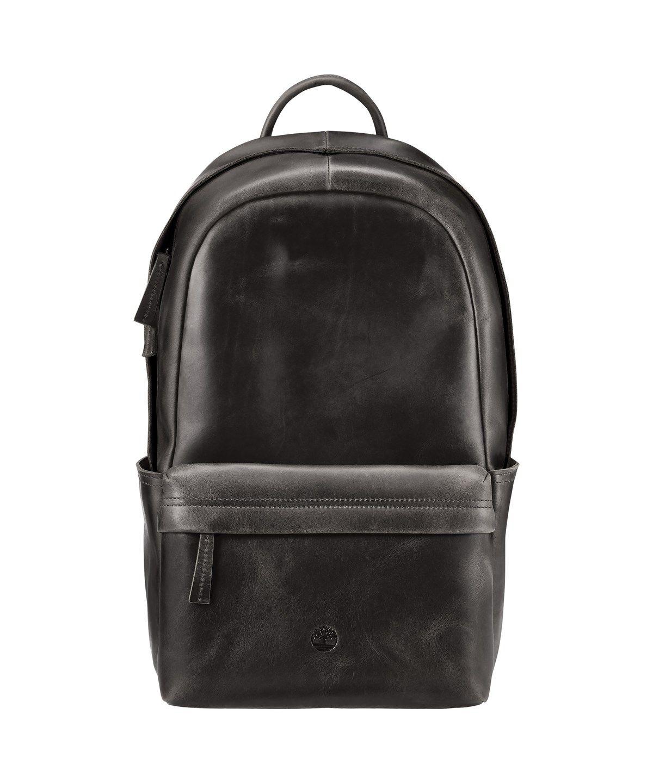 Black · TIMBERLAND Tuckerman Leather Backpack'.