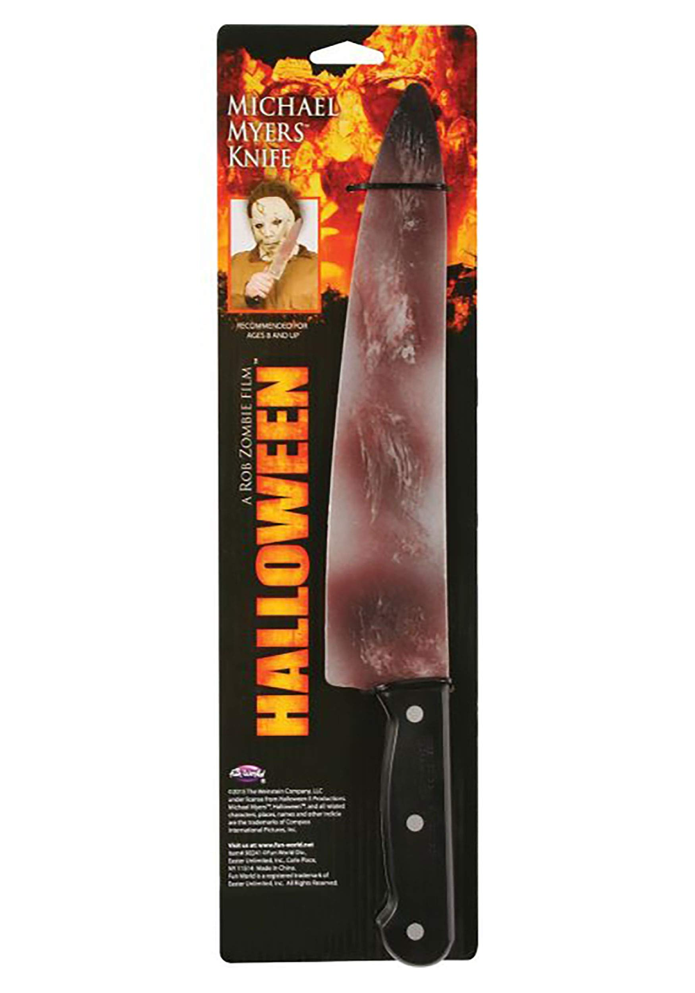 Halloween Rob Zombie Michael Myers Knife Standard Silver Shopinzar Com Michael Myers Halloween Rob Zombie Michael Myers Halloween Costume