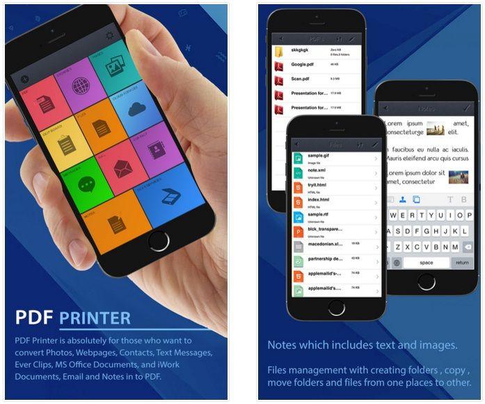 تطبيق Pdf Lab لتحويل وتعديل ملفات Pdf للايفون Samsung Galaxy Phone Galaxy Phone Printer